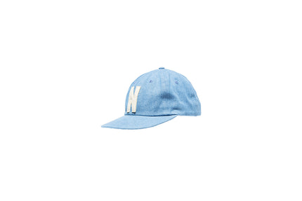Norse Projects Denim N Cap - Light Indigo