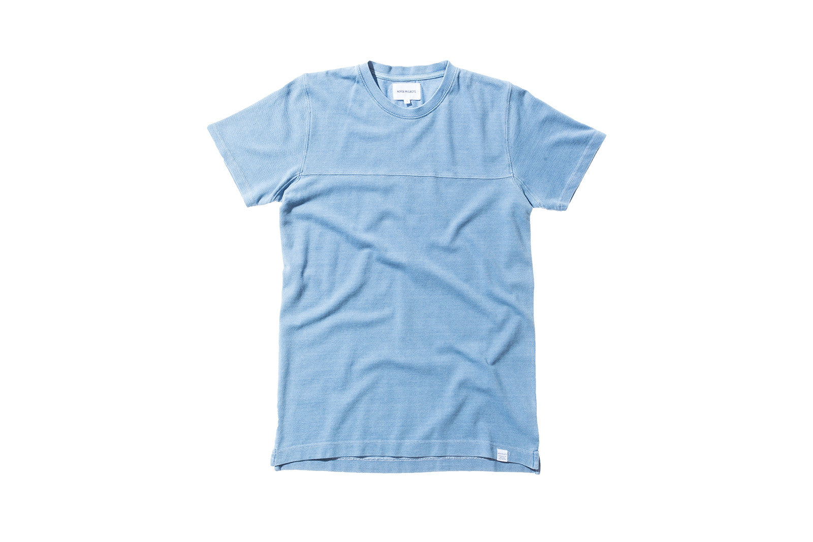 Norse Projects Rasmus Tee - Light Indigo Wash