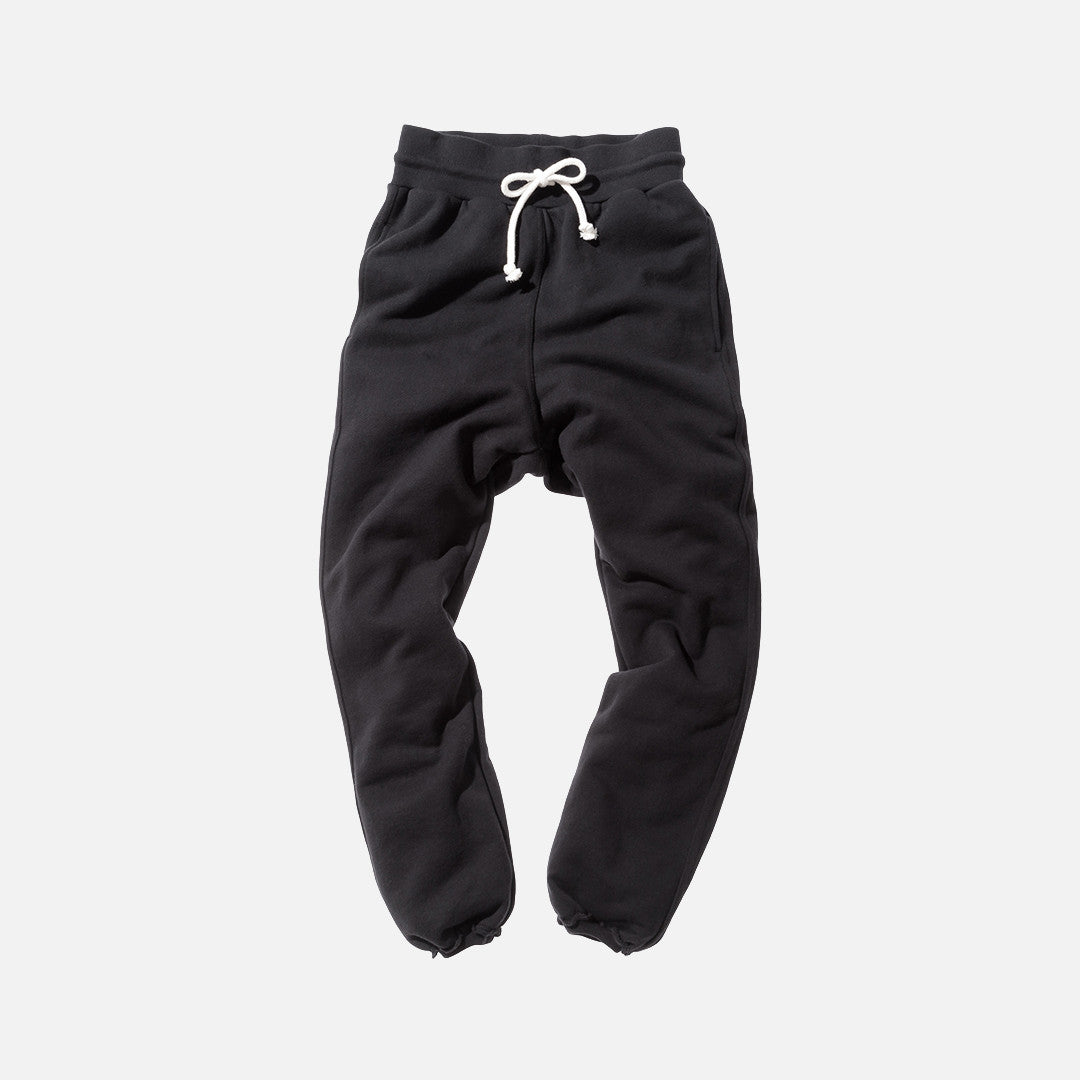 John Elliott Raw Edge Sweatpants - Black