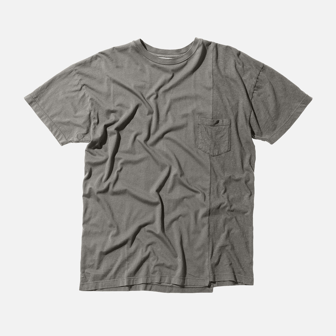 John Elliott S/S Paneled Pocket Tee - Alpine
