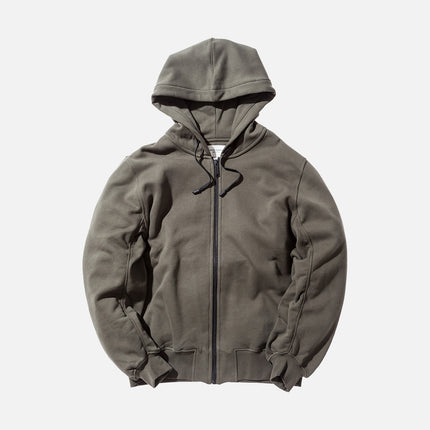 Public School Ollan Sunset Hoody - Army Green