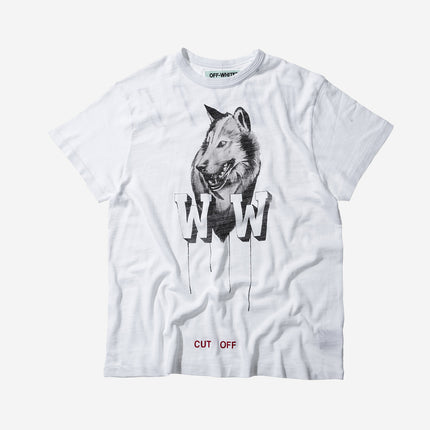 Off-White Othelo`s Wolf Tee - White
