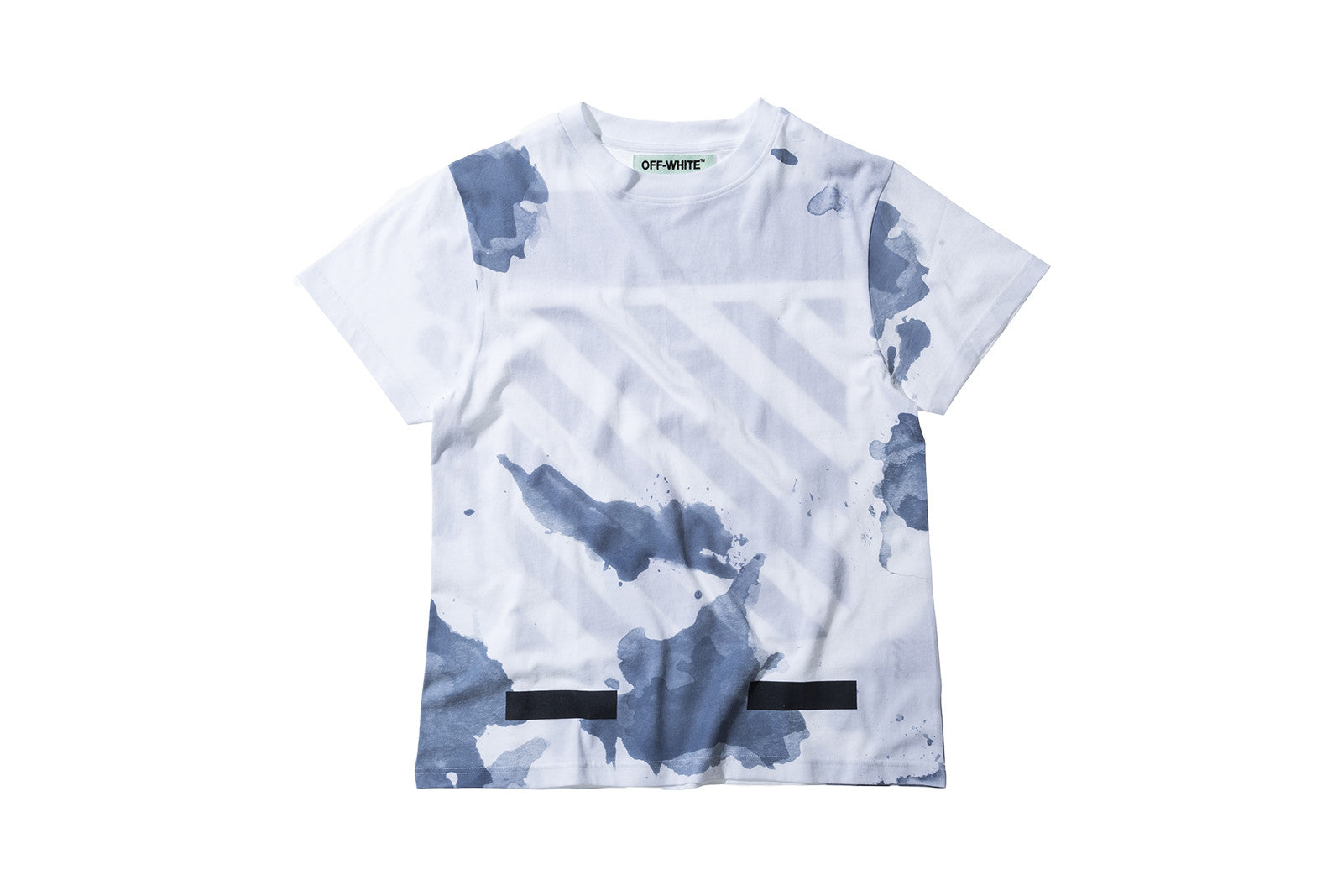 Off-White Liquid Spots Tee - Dark Blue