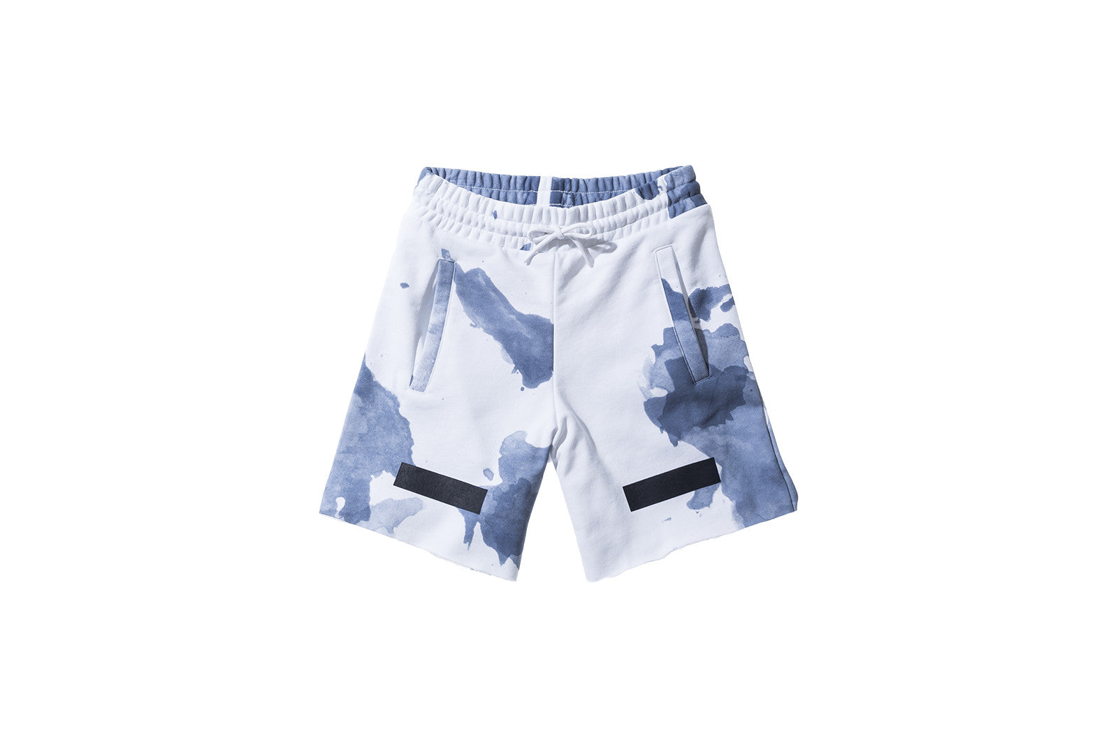 Off-White Liquid Spots Shorts - Dark Blue