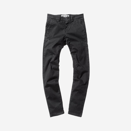 Off-White Brushed Slim Fit Pant - Black / White