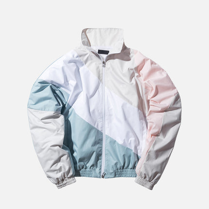 Kith Atlanta Windbreaker - Sand / Pink / Blue