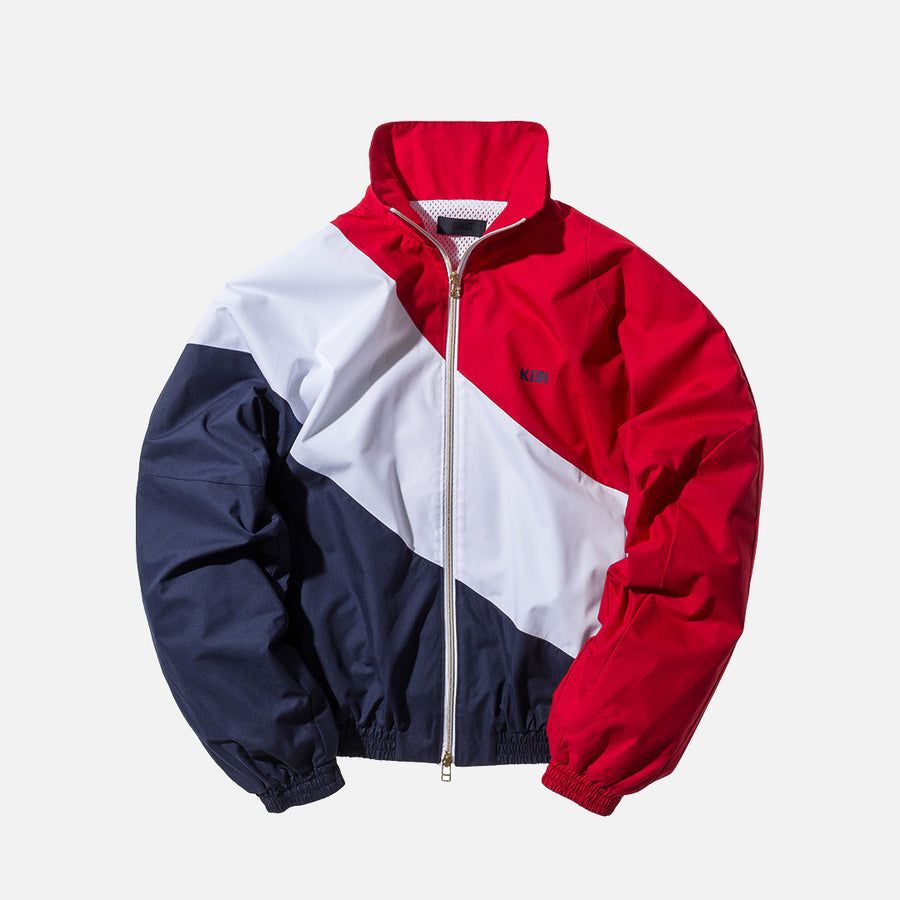 Kith Atlanta Windbreaker - Red / White / Navy