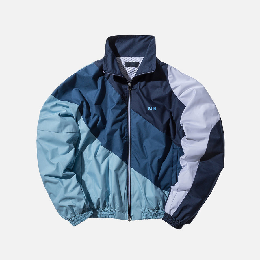 Kith Atlanta Windbreaker - Navy / Blue / Baby Blue