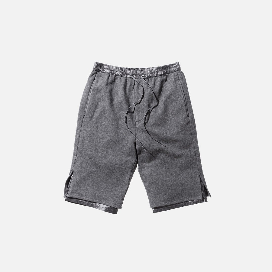 3.1 Phillip Lim Classic Leisure Short - Charcoal Melange