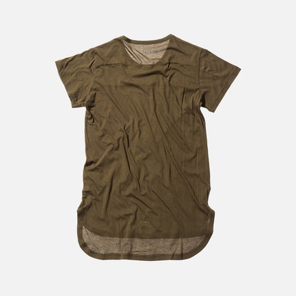 Stampd Chamber Scallop Tee - Olive