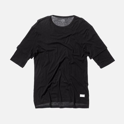 Stampd Double S/S Tee - Black
