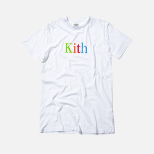 Kith Multicolor Tee - White