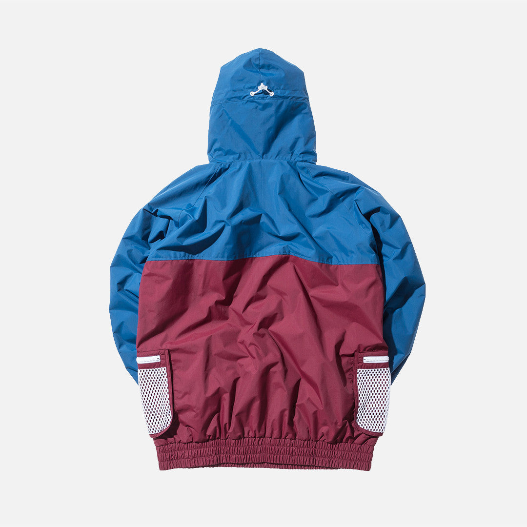 Kith Walker Anorak - Navy / Red