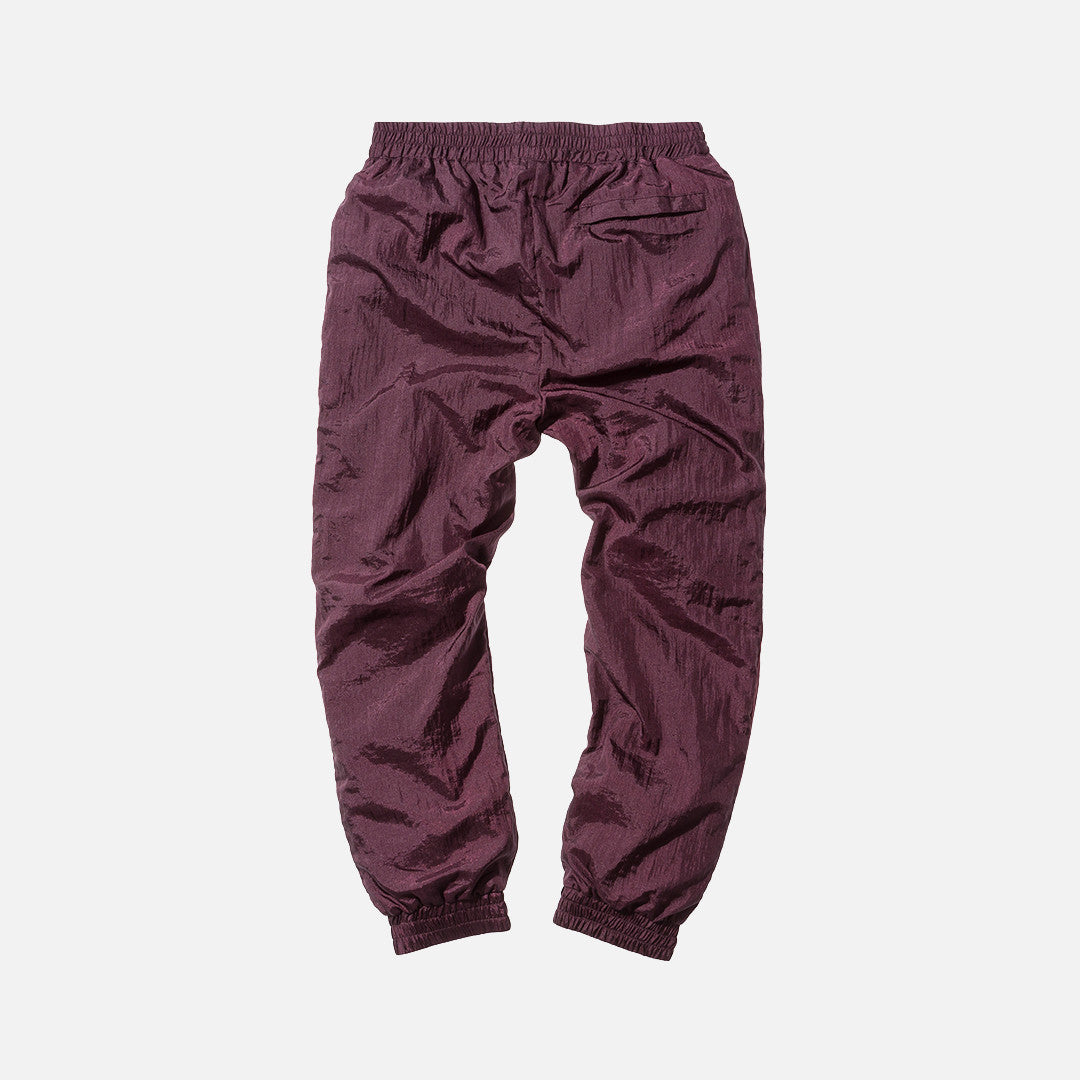 Kith Fisher Track Pant - Burgundy