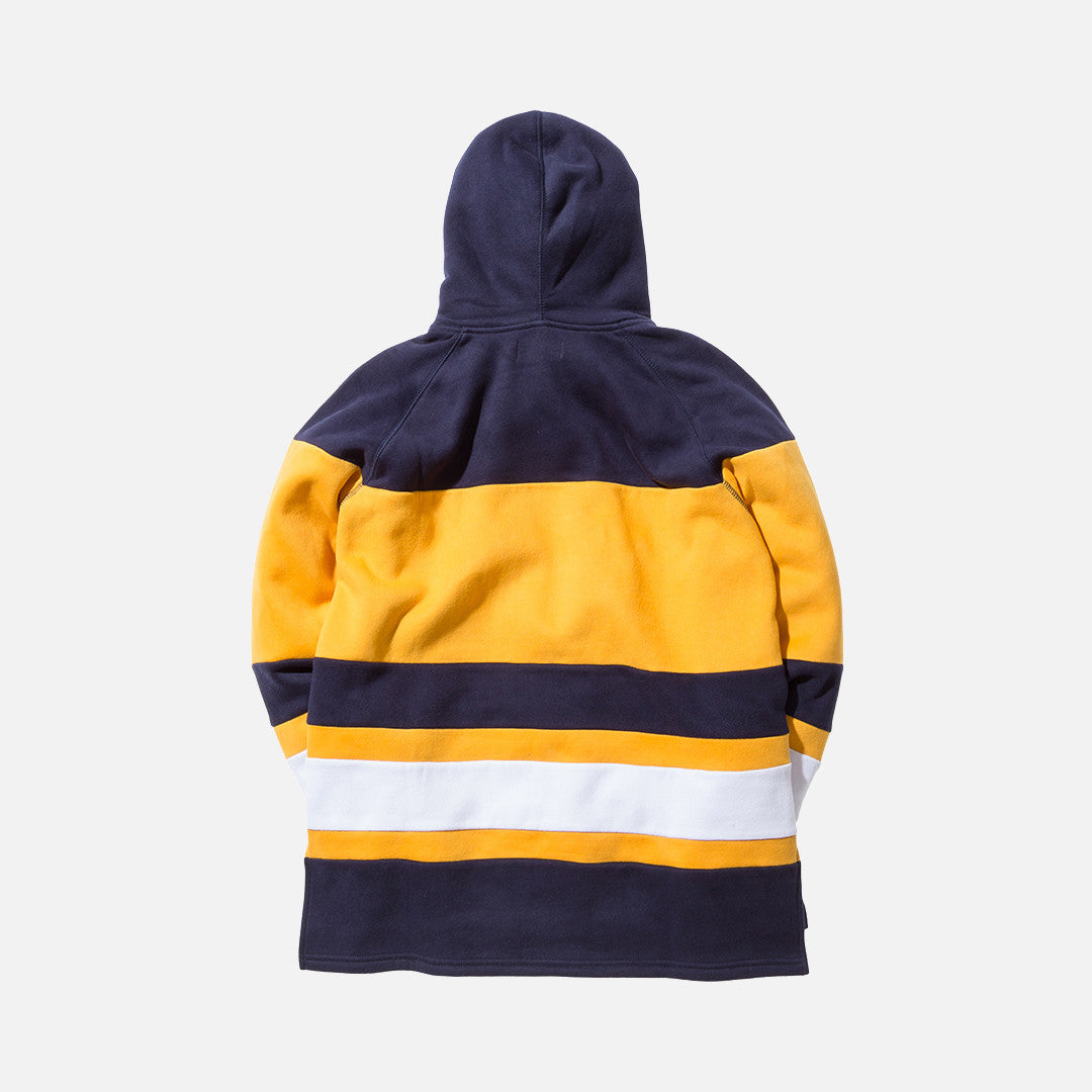 Kith Delk Hoodie - Yellow / Navy