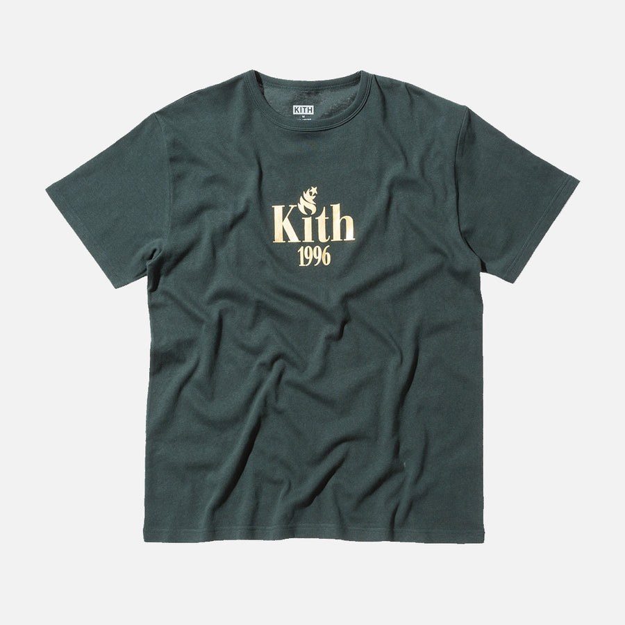 Kith 1996 Tee - Forest Green