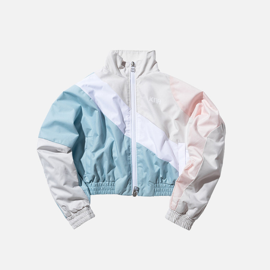 Kidset Atlanta Windbreaker - Sand / Pink / Blue