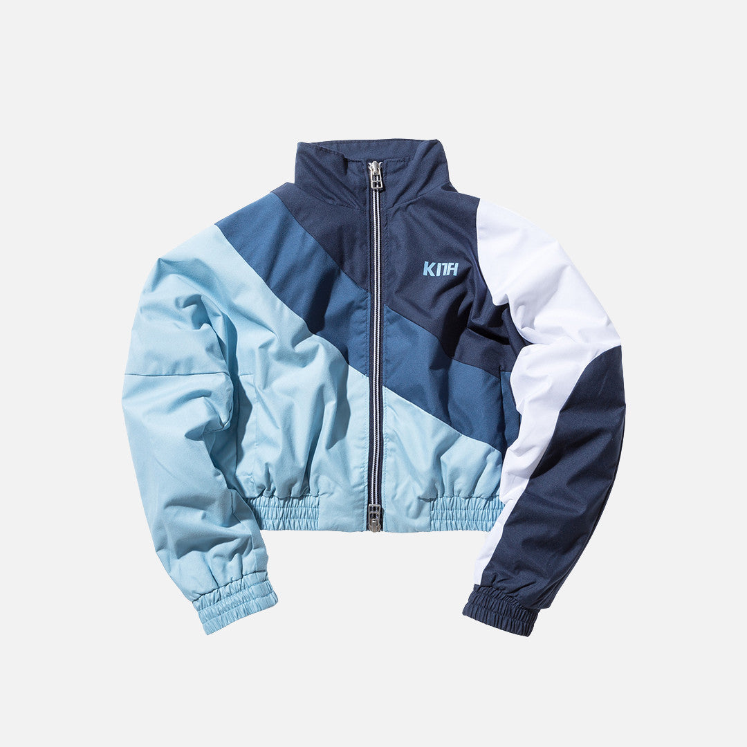 Kidset Atlanta Windbreaker - Navy / Blue / Baby Blue