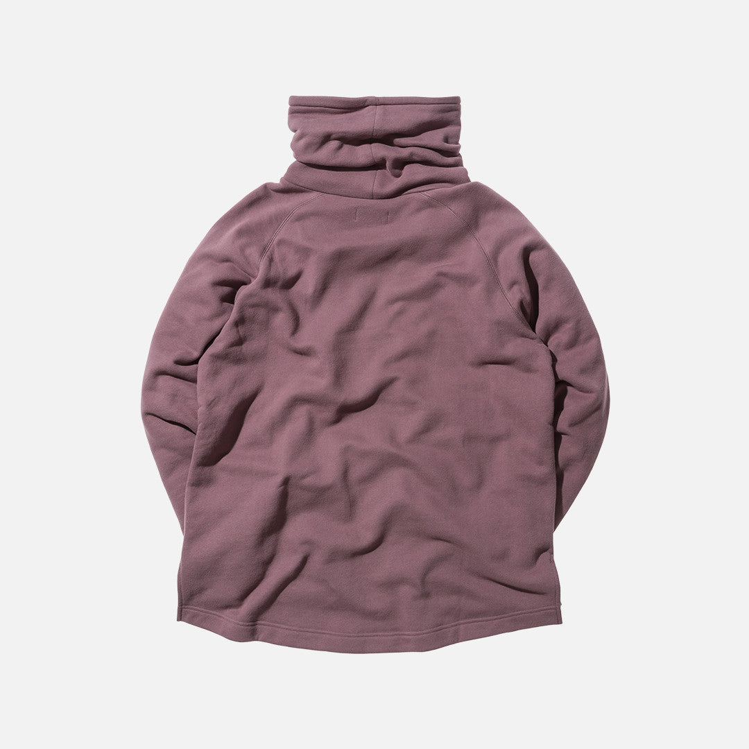 Kith Classics Kennedy Stack Neck Pullover - Mauve