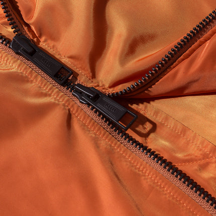 Kith Classics Astor Bomber - Dark Orange