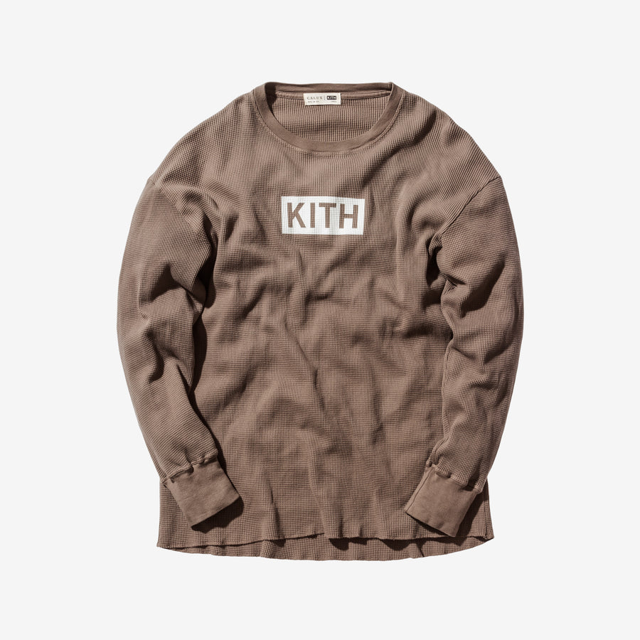 Kith Classics x Calux Waffle Thermal - Olive