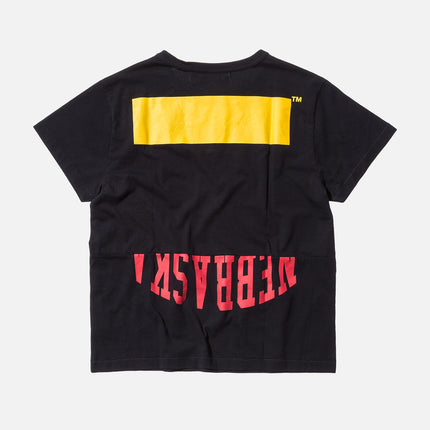 Off-White Patchwork Tee - Black / Yellow