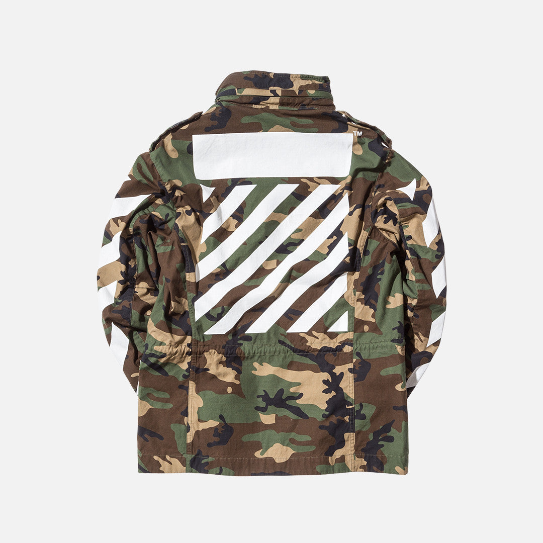 Off-White Camouflage M65 Jacket - Green / Camo