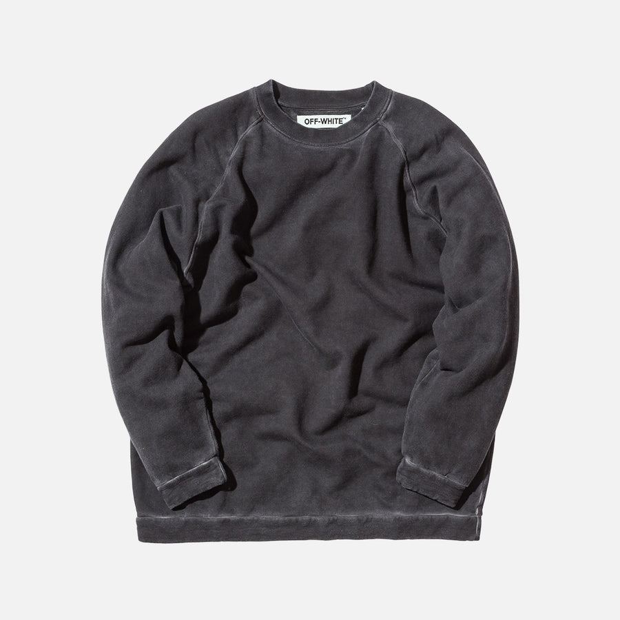 Off-White Fleece Crewneck - Black