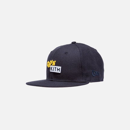 Cap'n Kith x New Era Logo 59FIFTY Cap - Navy