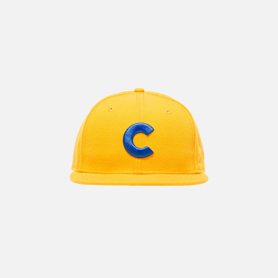Cap'n Kith x New Era C 59FIFTY Cap - Yellow