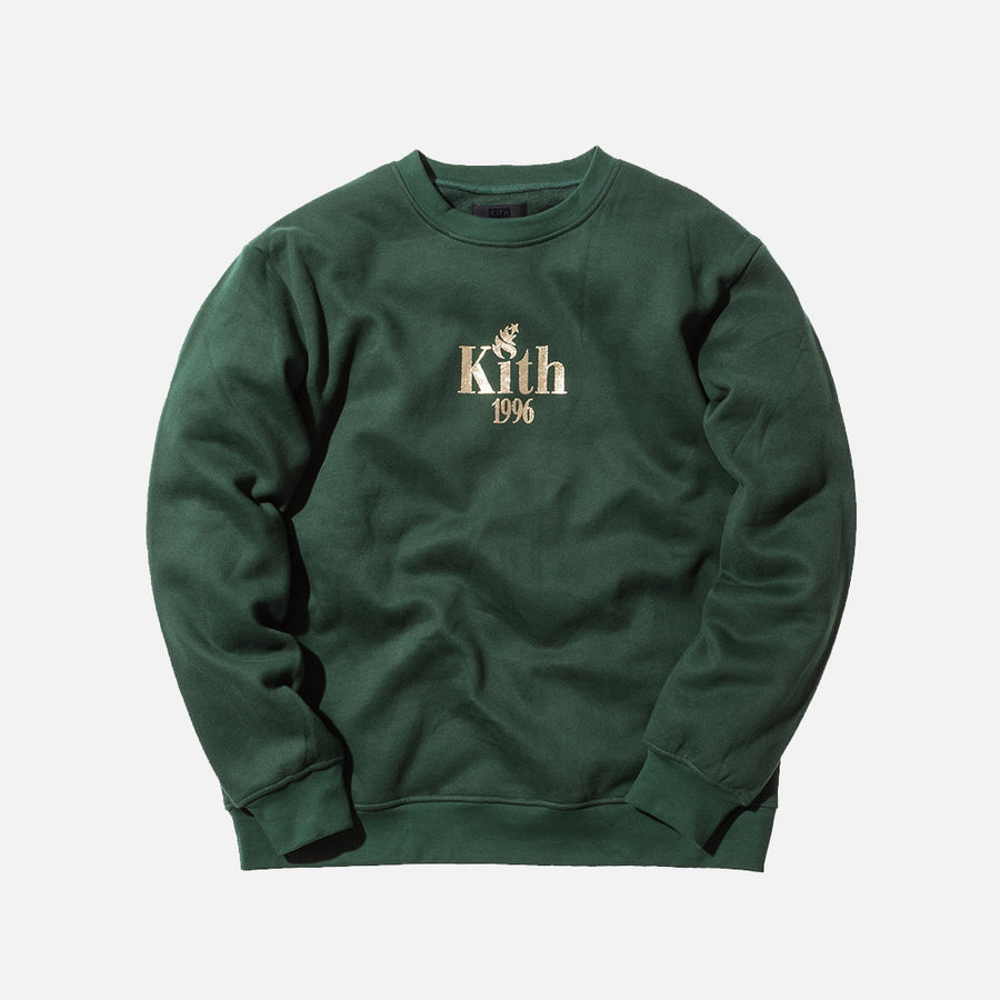 Kith McInnis Crewneck - Forest Green