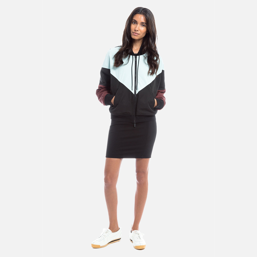 Kith Kiko Cropped Zip-Up - Blue / Andorra