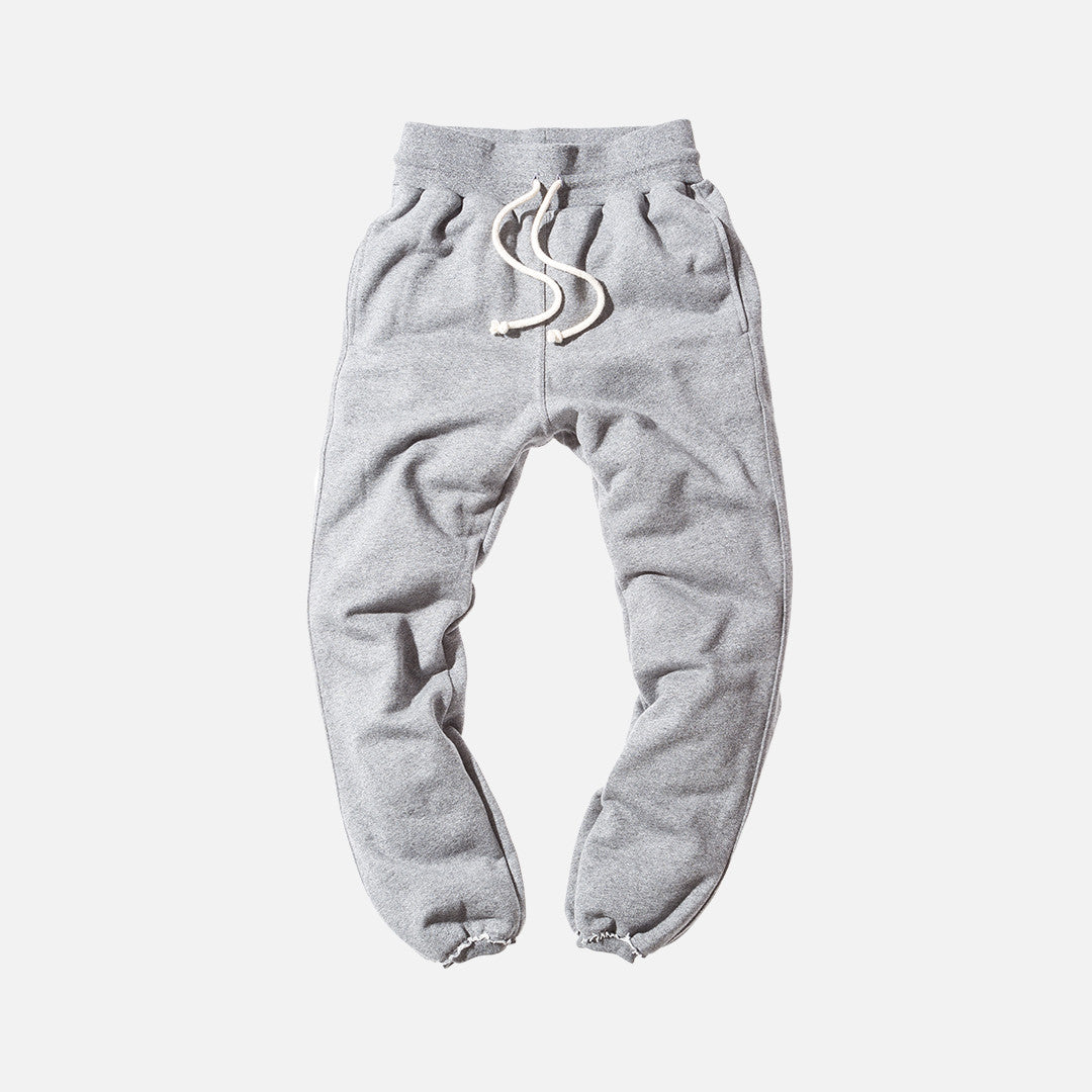 John Elliott Raw Edge Sweatpants - Dark Grey