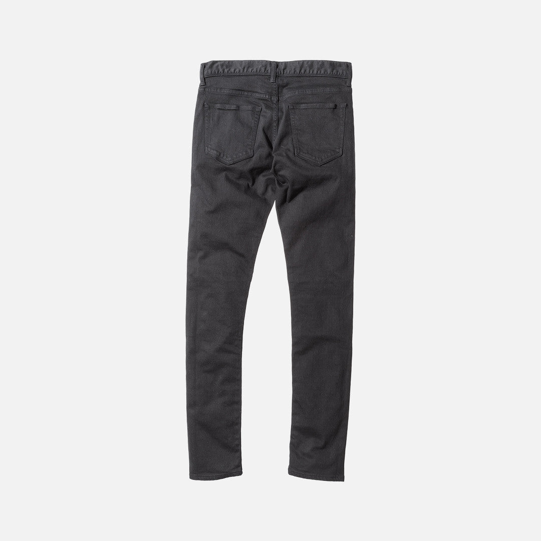 John Elliott The Cast 2 Sashiko Panel Denim - Black
