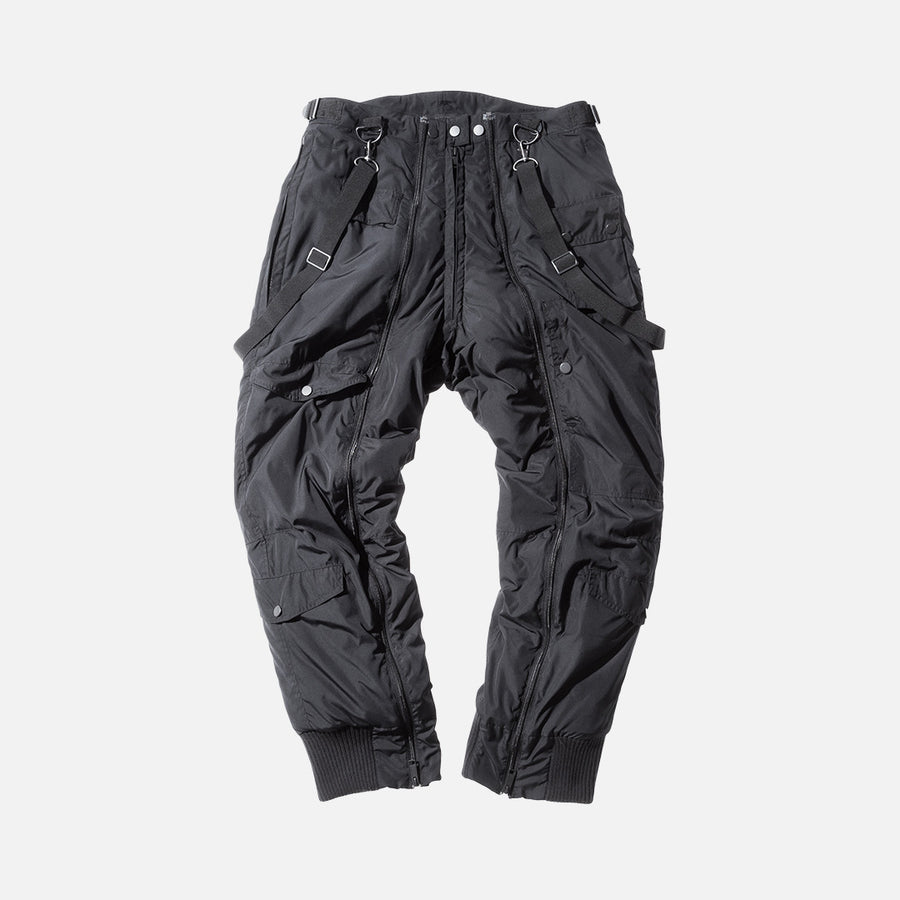 Kith Astor Flight Suspender Pant - Black
