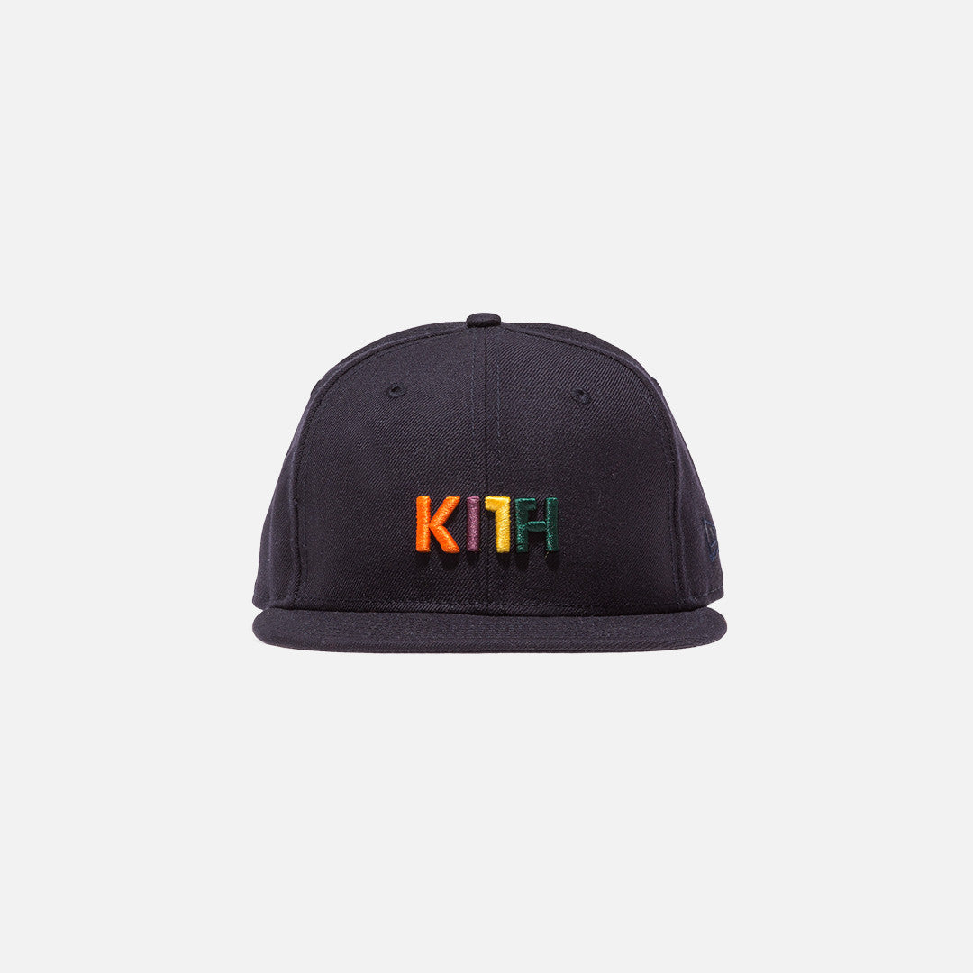 Kith x New Era Logo 59FIFTY Cap - Navy