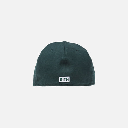 Kith x New Era Logo 59FIFTY Cap - Forest Green
