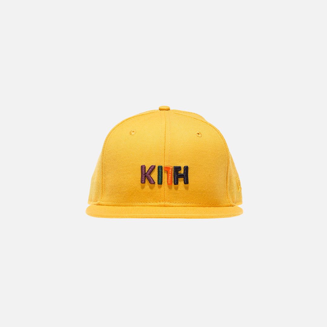 Kith x New Era Logo 59FIFTY Cap - Yellow