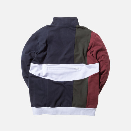 Kith Camby Track Jacket - Burgundy / Forest Green