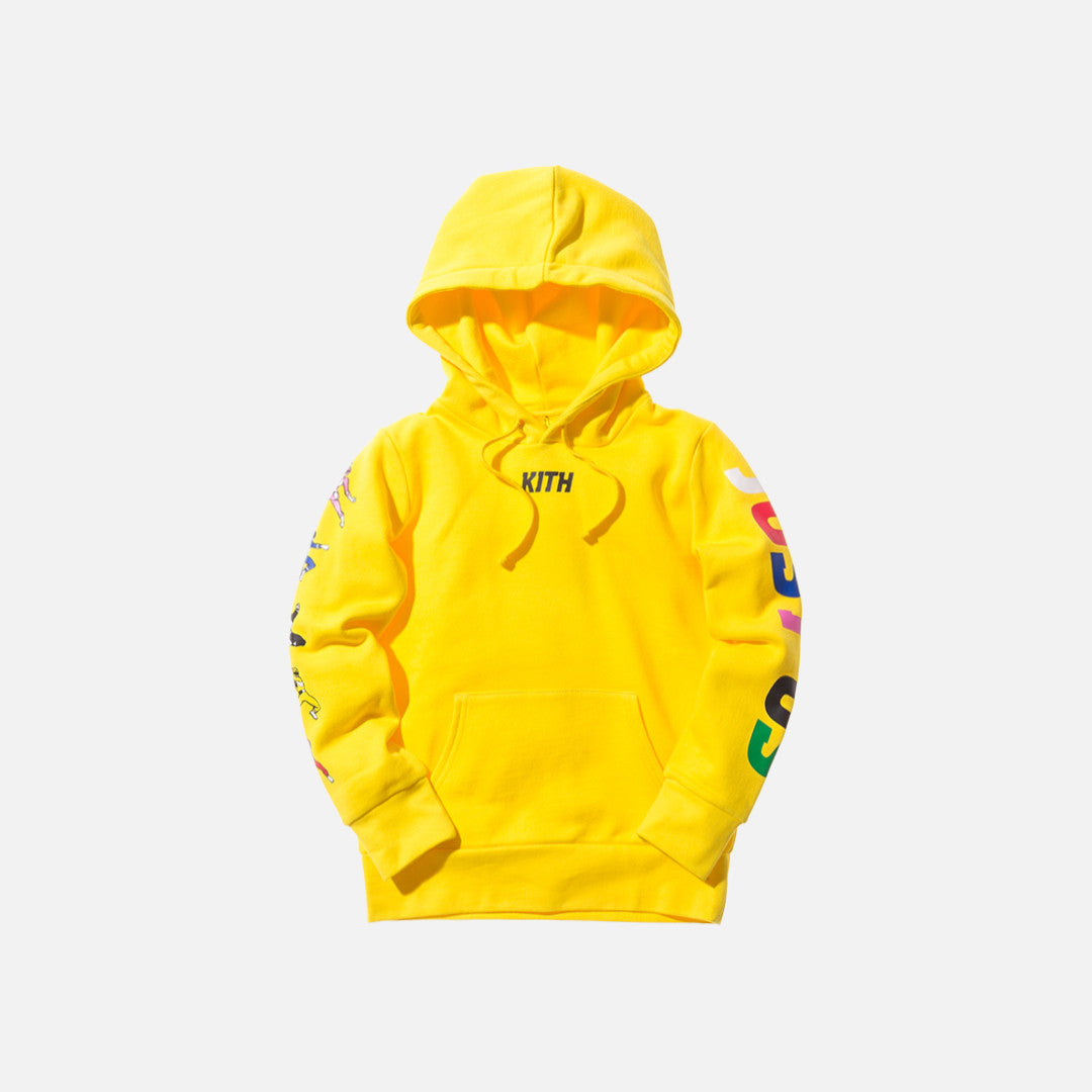 Kidset x Power Rangers Hoodie - Yellow