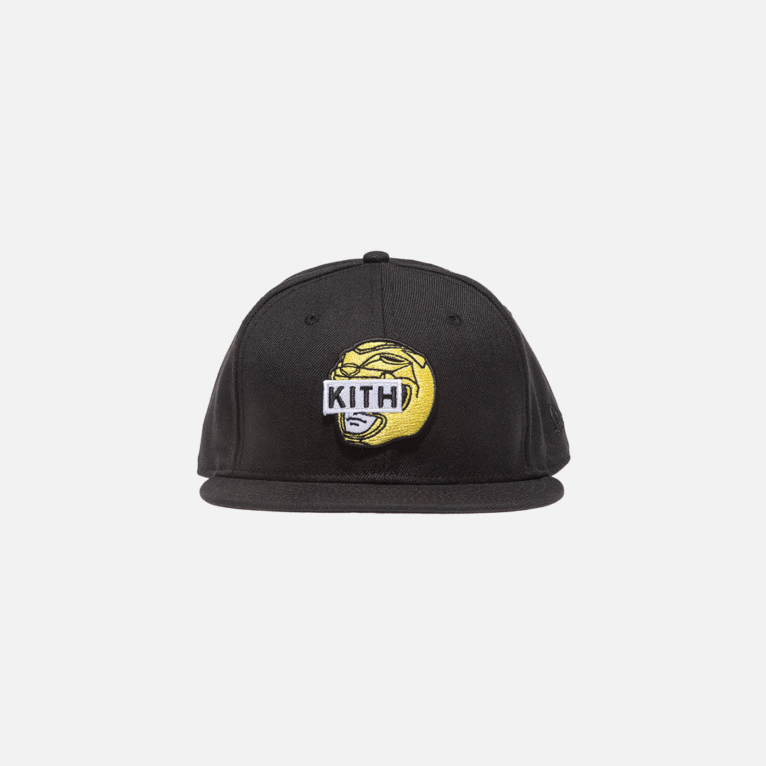 Kith x Power Rangers x New Era Logo 59FIFTY Cap - Black / Yellow