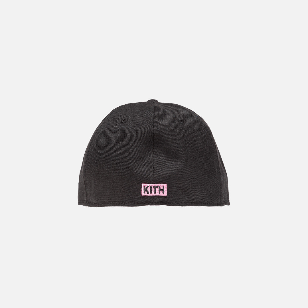 Kith x Power Rangers x New Era Logo 59FIFTY Cap - Black / Pink