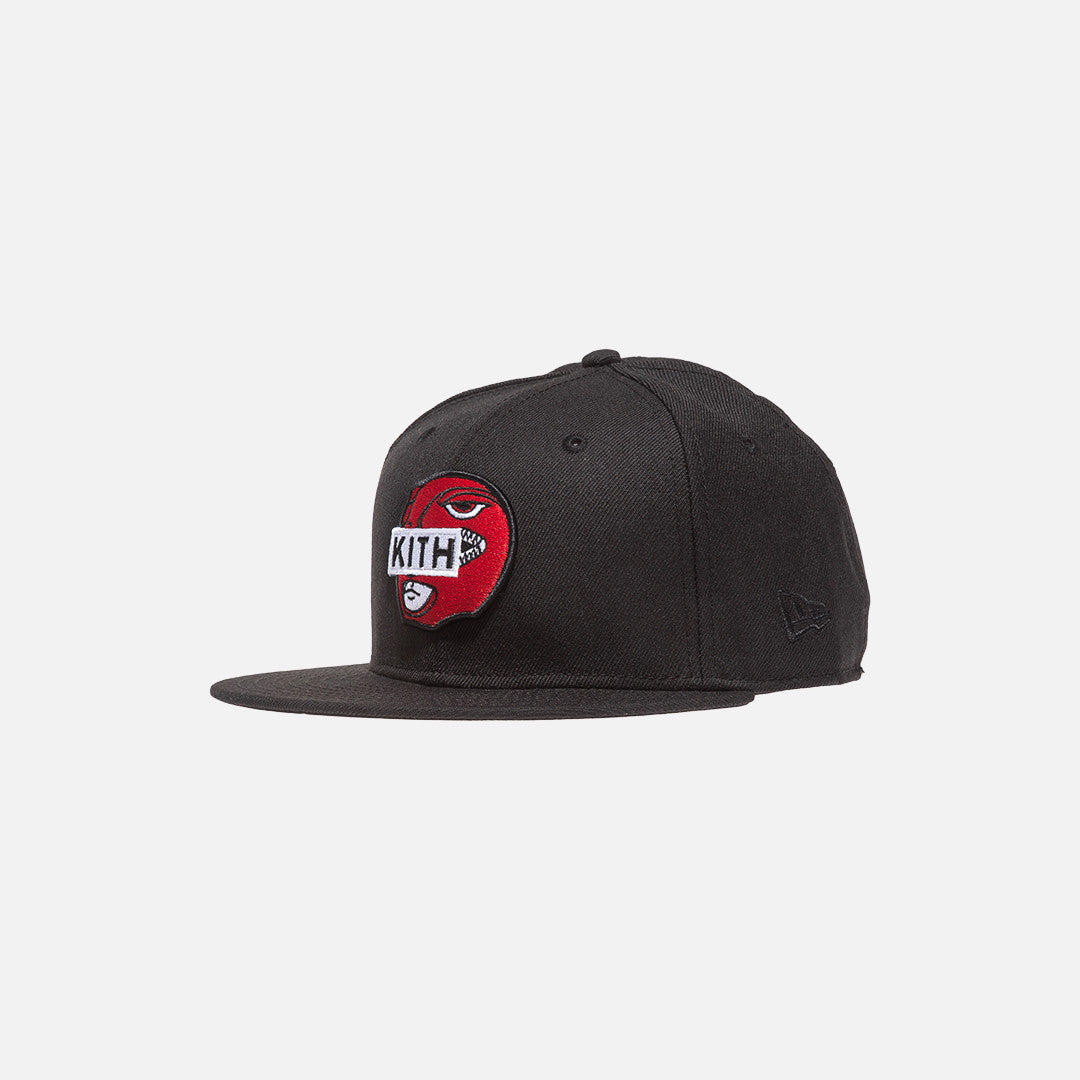 Kith x Power Rangers x New Era Logo 59FIFTY Cap - Black / Red