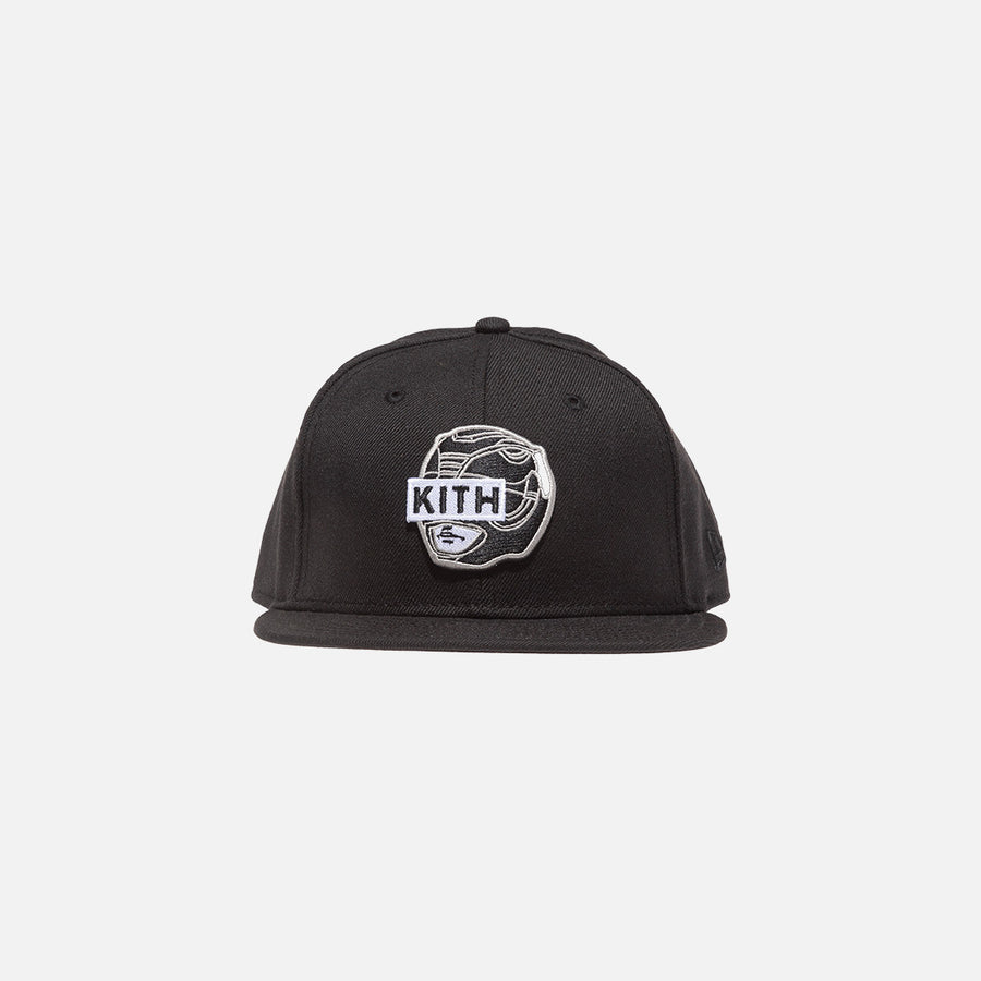 Kith x Power Rangers x New Era 59FIFTY Cap - Black
