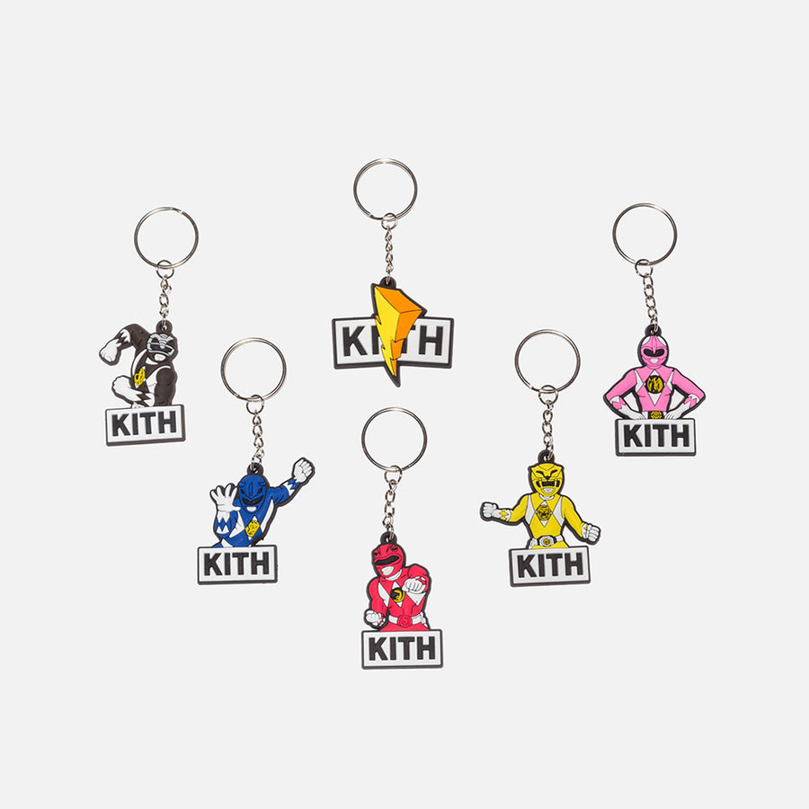 Kith x Power Rangers Keychains