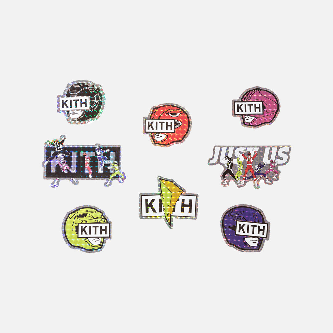 Kith x Power Rangers Stickers