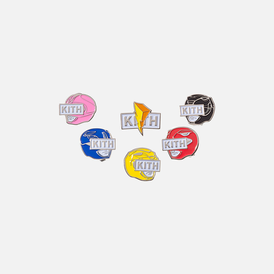 Kith x Power Rangers Pins
