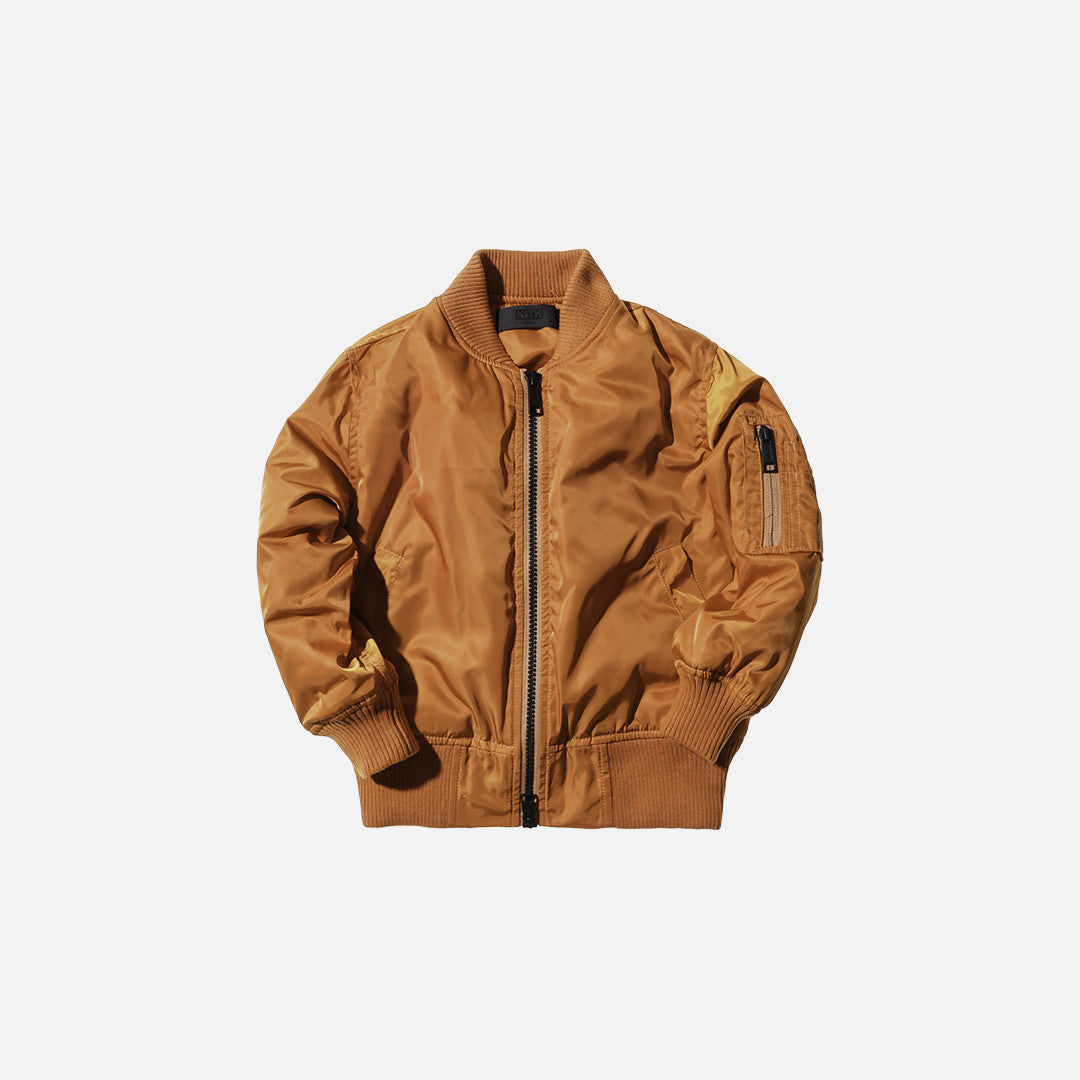Kidset Astor Bomber -Dark Orange