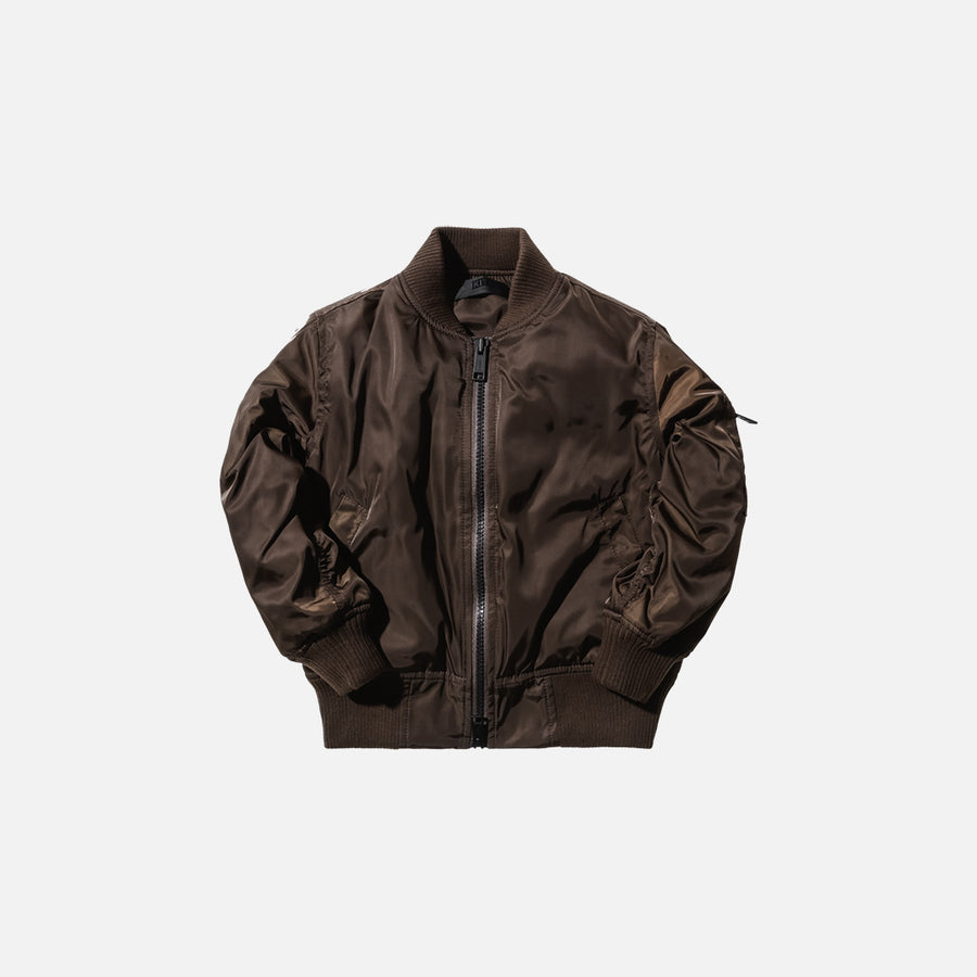 Kidset Astor Bomber - Coffee
