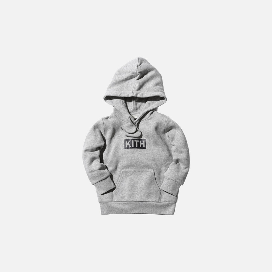 Kidset Williams Hoodie - Heather Grey